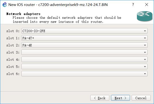 图 8 网络适配器配置完成