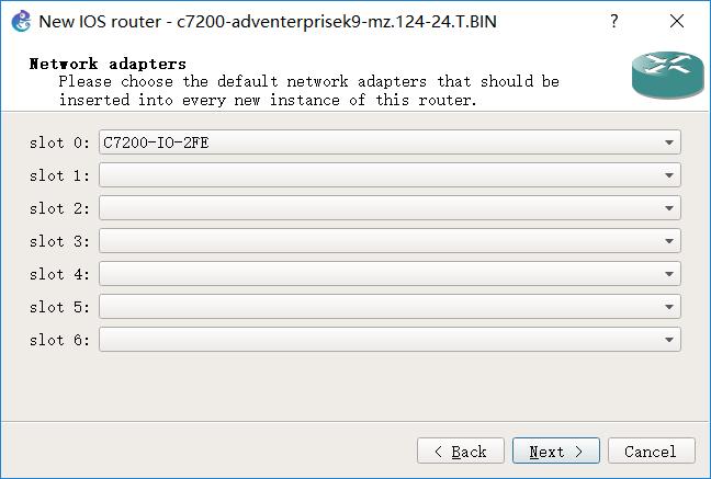 图 7 配置网络适配器